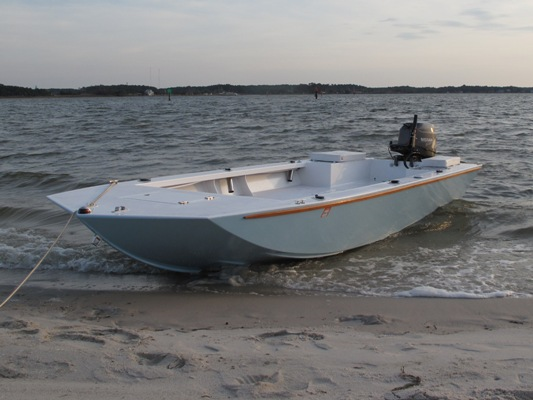 Inlet Runner 16 powerboat plans