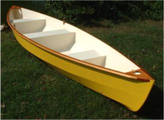Lynnhaven 16 stitch & glue plywood canoe plans